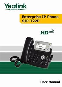 Download Free Pdf For Yealink T22p Telephone Manual