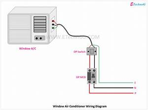 Air Conditioner Connection And Wiring Diagram