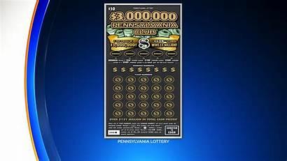 Million Lottery Scratch Ticket Winning Pennsylvania Dollar