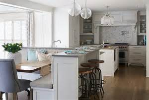 l shaped kitchen island kitchen island with built in l shaped dining banquette transitional kitchen