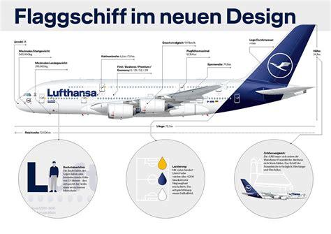 Lufthansa Sitzplatzkonfiguration A380 Boeing 747 8 und