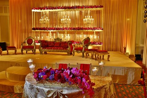 muslim reception decor wedding flowers  decorations