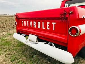 1959 Chevy Apache 3100 Short Bed Fleetside For Sale