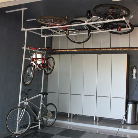 Ceiling Bike Rack Horizontal by Quad6