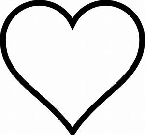 Heart Outline Clip Art | Clipart Panda - Free Clipart Images