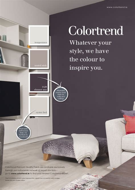 Bedroom Paint Ideas Ireland by Pin By Colourtrend Paints On Inspiring Ads Colourtrend