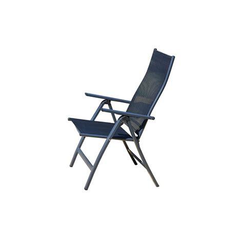 chaise dossier haut chaise de jardin multi le rêve chez vous