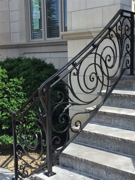 A baluster, often referred to as stair spindles, combine true architectural features, with expert craftsmanship. GALLERY | EXTERIOR | Wrought Iron Railings - Innovative ...