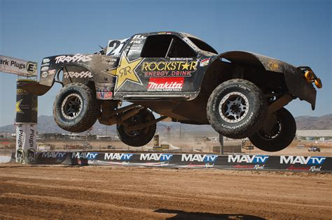 rockstar energy jeep rockstar performance garage lucus oil off road racing