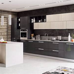 China, Modern, Simple, Wood, Modular, Kitchen, Cabinet, Indoor, Furniture