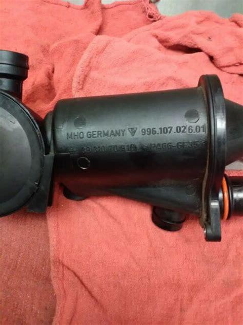 Engine oil separator 2008 part: Used Porsche part No. 996.107.026.01 Oil Separator Boxster 986 '97-'04 | eBay