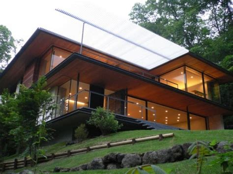 Modern Japanese Home Design, Outdoor And Interior