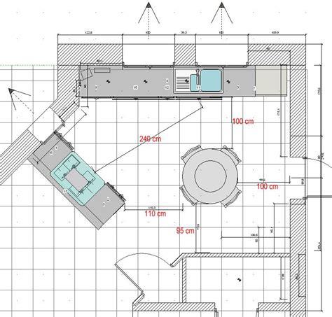 rallonge plan de travail cuisine implantation cuisine projet 3 et 4 votre avis merci