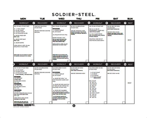 workout program template plan template 23 free pdf documents free premium templates