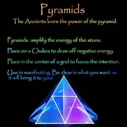 Healing Stones Crystal Chakra Crystals Shapes Pyramid