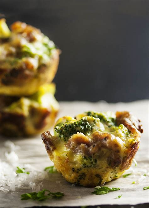 Three Cheese Broccoli Bites  Just A Little Bit Of Bacon