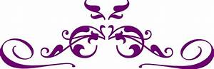 Purple Flower clipart purple swirl - Pencil and in color ...