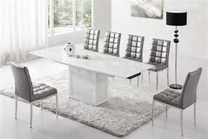 Table Salle A Manger Et Chaise : table et chaises de salle a manger design ~ Teatrodelosmanantiales.com Idées de Décoration