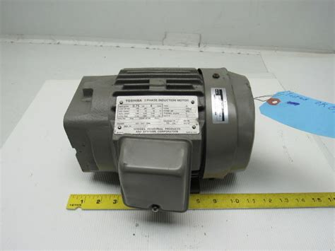 toshiba kw electric induction motor  ph