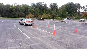 Ohio Drivers Licence Maneuverability Test Cones