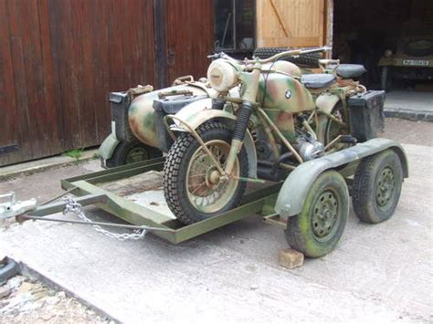 1942 BMW R75 for sale with transporter trailer SOLD