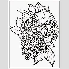 Adult Free Fish Coloring Pages  Realistic Coloring Pages  Draws  Fish Coloring Page, Coloring