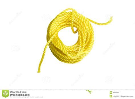 aureole jaune sur linge blanc corde jaune image libre de droits image 4660196