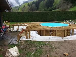 Terrasse Bois Sur Terre : installation terrasse bois sur terre ~ Dailycaller-alerts.com Idées de Décoration