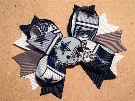 foto de Dallas Cowboys Hair Bow by ItsEspecially4U #dallas #