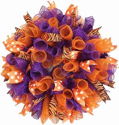Wreaths Mesh Deco Wreath Ribbon Curly Tutorial