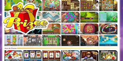 prizee mini jeux flash pour gagner des cadeaux en ligne