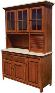 kitchen buffet hutch furniture amish kitchen hoosier cabinet hutch baking pantry solid wood country rustic new ebay