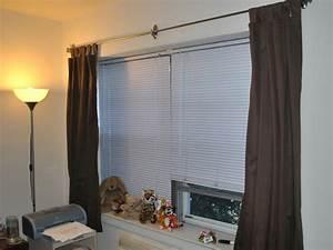 Rideaux à Poser Sur Fenêtres : poser une tringle rideaux ~ Premium-room.com Idées de Décoration
