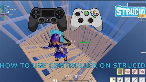 play strucid   controller youtube
