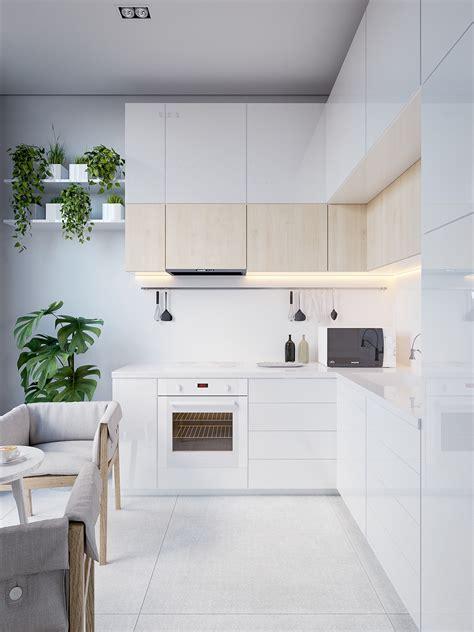 minimalist kitchen island 40 minimalist kitchens to get sleek inspiration 4143