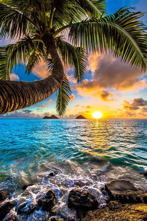 Epic sunrise in Kailua at Lanikai Beach   Nature pictures ...