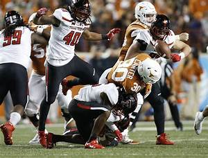 Top opponents for Texas in 2018, No. 22: Texas Tech LB ...
