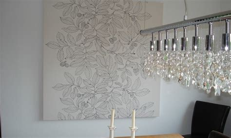 Große Wandbilder Ikea by Wand Gestalten Mit Stoff Phantasie Schon Wandgestaltung