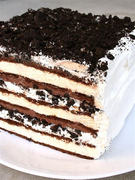 25 best ideas about icecream sandwich cake on icecream cake recipes birthday cake