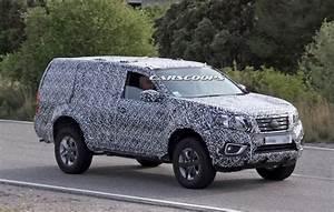 Nissan Spied Testing New 2018 Suv Based On Navara Np300