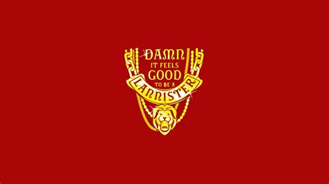 game  thrones house lannister red background