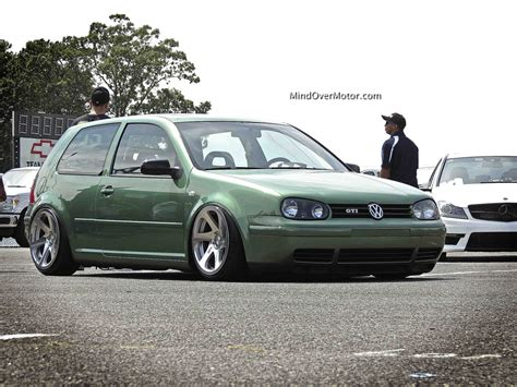 slammed volkswagen golf waterfest 19 2013 mind over motor