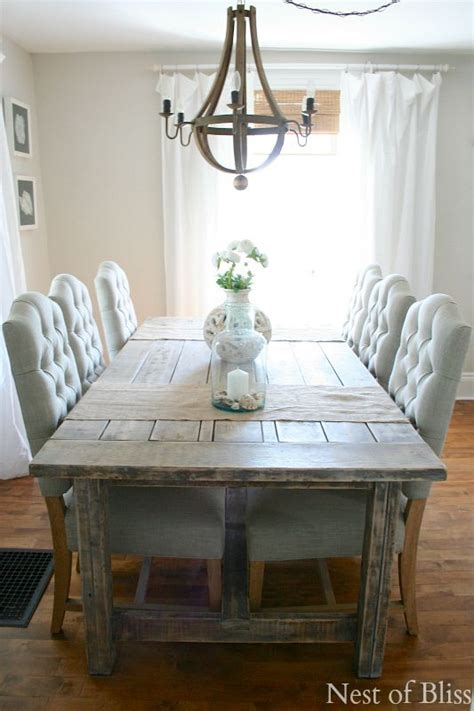 farmhouse kitchen table sets rooms to go 25 best farmhouse dining tables ideas on