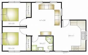 granny flat floor plans 2 bedrooms best image nikotubcom With floor plans for 2 bedroom granny flats