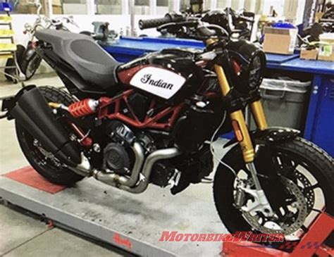 Is This The New Indian Ftr 1200?