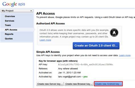 Maps Api Console Maps Android Api V2 Tutorial