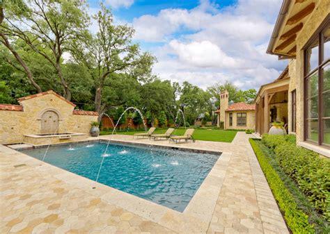 mediterranean swimming pools private residence mediterranean tuscan mediterranean pool dallas by harold leidner