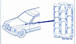 Mercedes C240 2005 Main Fuse Box  Block Circuit Breaker Diagram  U00bb Carfusebox