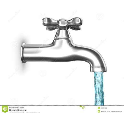 kitchen faucets images water faucet with flowing water isolated on white stock