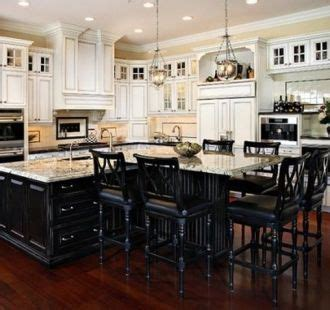kitchen island with seating for 6   park blvd   Pinterest
